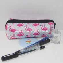 Cheap for Neoprene Pencil Case Clear flamingo printing pencil pouches high quality neoprene export to Poland Importers