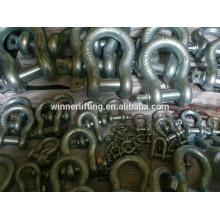 Competitive price High Tensile Forged Bow Shackle