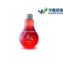 250ml 8oz Light Bulb Shape Juice Beverage Glass Bottle