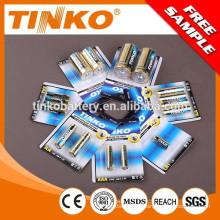 Super bateria alcalina tamanho AAA /AA/C/D/9V 12V23A/27A