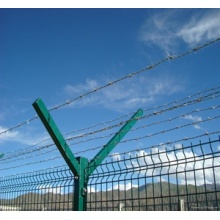 Professional PVC coated welded airport fence
