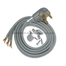 30AMP 3G#10 Srdt Power Dryer Cord W/Spade End