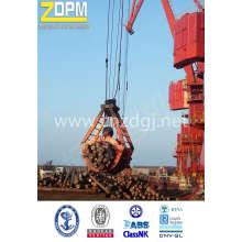 Escavadeira de levantamento de equipamentos mecânicos de madeira Grab