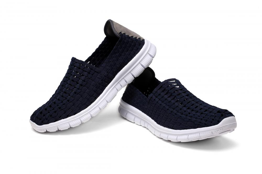 Slip-ons Design Hollow Work Shoes