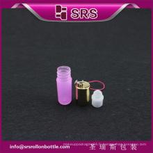 SRS rose 100% sans fil de perfusion sur une bouteille en plastique de 3 ml
