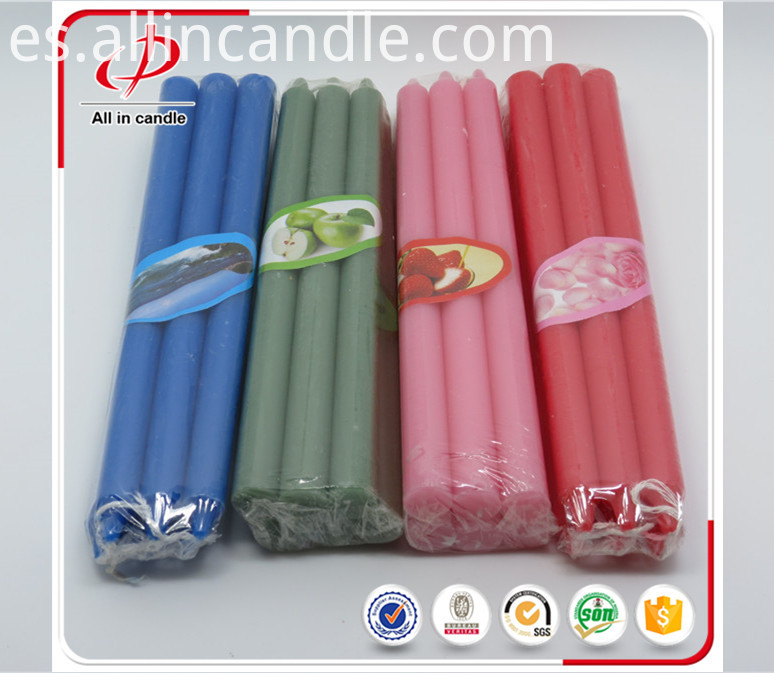 color stick candle
