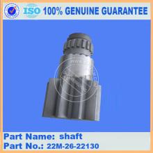 pc55MR-2 PC40MR-2 swing machinery shaft 22M-26-22130