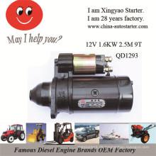 Europe Maket Hot Selling 12V 1.6kw Bagger Starter