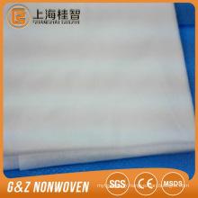 Plaque compostable courte fibre de fibre de fibre de pla / pla pour des lingettes jetables de non-tissé de spunlace