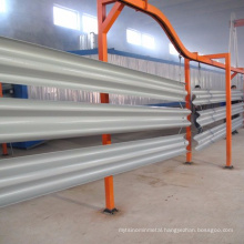 crash barrier highway guardrail corrugated beam guardrail