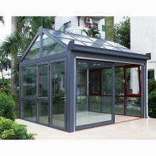 Customized Glass Houses Aluminum Profile Glass Sunroom