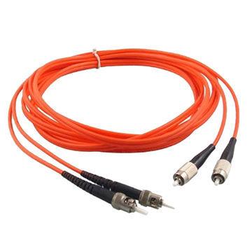 Ce Certificate FC to St Multi-Mode Optical Fiber Jumper