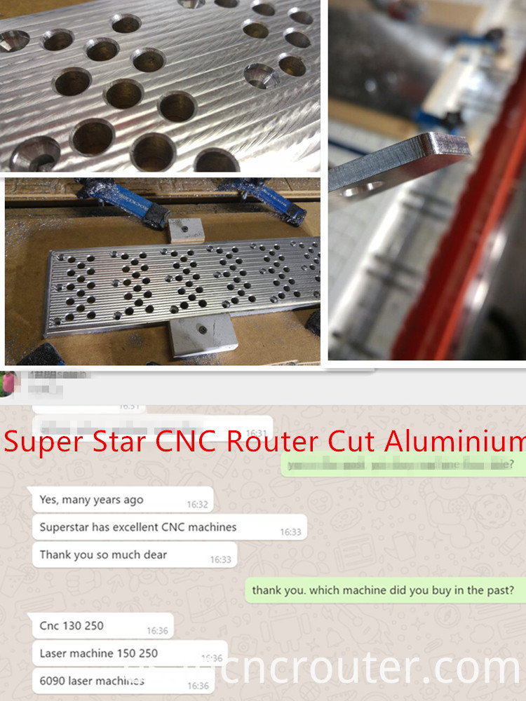 CNC ROUTER FOR ALUMINIUM