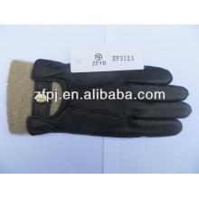 Hot Sale Super soft deer skin warm leather gloves for men