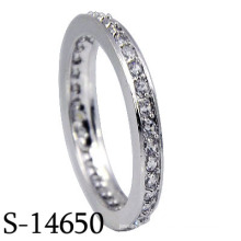 2016 Modeschmuck 925 Sterling Silber Ehering (S-14650)