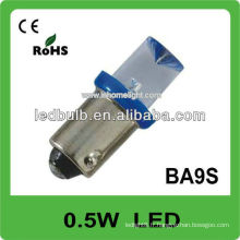 0.5W led lampe de voiture 12V automobile ba9s led