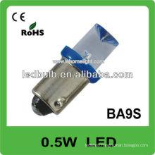 0.5W led car lamp 12V automotive ba9s led