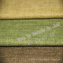 Tela de poliéster para sofá imitación lino de tapicería (G844-356)