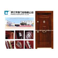 Residencial puerta acorazada turca con el certificado del SGS
