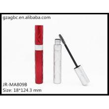 Charmante & leeren Kunststoff Runde Mascara Tube JR-MA809B, AGPM Kosmetikverpackungen, benutzerdefinierte Farben/Logo