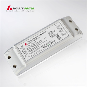 12W 24 Volt 500ma constant voltage triac dimmable LED strip driver