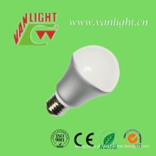 Lâmpada LED E27 quente luz 5 Watt LED Lâmpada