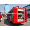 SINOTRUK HOWO   22 cubic water foam fire fighting truck