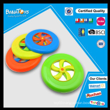 9.5 inch colorful kids plastic frisbee promotional