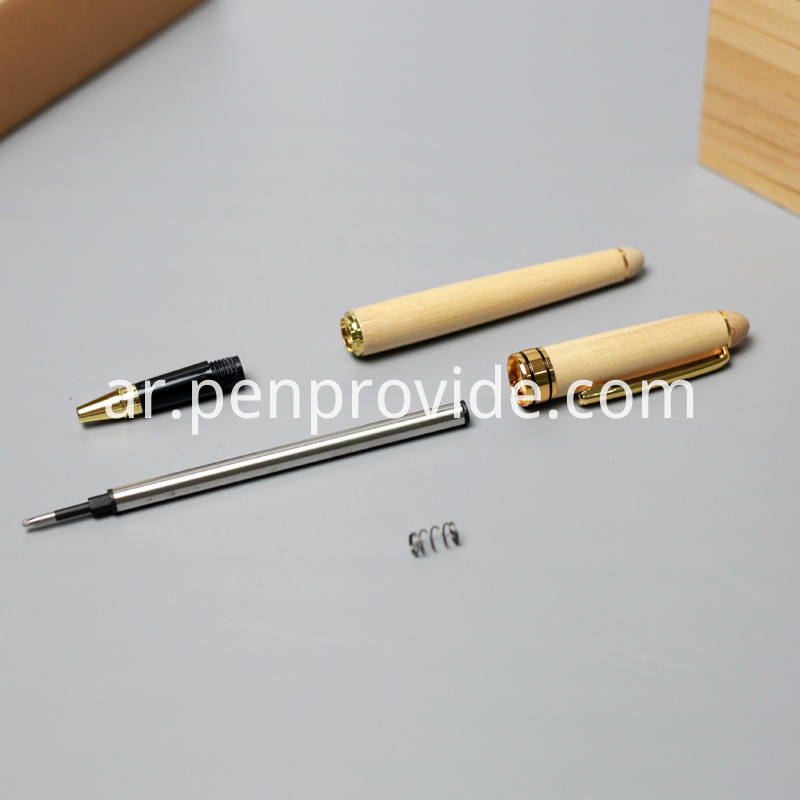 Roller Ball Pens Made from Wood
