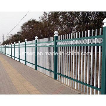 2600mm High Post Garrison Panel Zaun