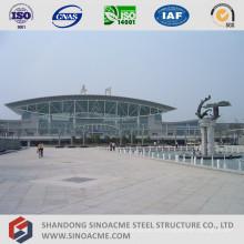 Stahlrohr-Binder-Struktur-Dach für Bahnhof