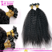 Kinky straight U Tip Hair Popular Top Quality wholesale u tip hair extensions