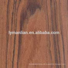 Dekoriertes wieder hergestelltes Palisander / Walnuss / Eiche / Teak Furnier Furnier Möbel Furnier