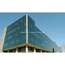 Bold Look Aluminium Frame Glass Curtain Wall