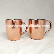 neue tägliche Kupfer Kaffee Becher Hersteller KB006A