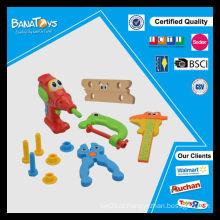 Engraçado brinquedos elétricos com música para crianças jogo de ferramentas de brinquedo de plástico