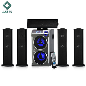 Sistema de home theater receptor sem fio bluetooth