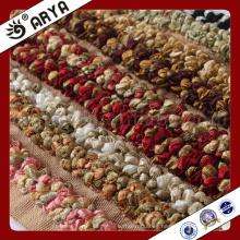Tipo especial de la flor Cuerda decorativa para la decoración del sofá o el accesorio de la decoración casera, cuerda decorativa, 6m m