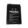 Bateria acidificada ao chumbo recarregável de 6V 4Ah VRLA 6 a manutenção livre da bateria 6V da bateria acidificada ao chumbo do volt