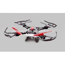 2016 Mais recente Uma chave decolou Drone 5.8G 4 CH 6 Axe Gyro FPV Quadcopter RC em tempo real com alta definição e câmera HD