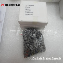 Tungsten Carbide Brazed Turning Inserts