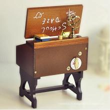 Vente chaude top qualité design chaud boîte à musique carrousel