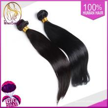 Человеческий волос ткать, дешевые человеческие волосы 100% натуральные волосы сырые Камбоджи