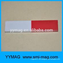 Alnico rote und weiße gemalte Bildung Magnet Bar