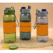 Custom Logo Eco-Friendly Plstic Sport Water Bottle with Filter