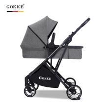 Premium 3 en 1 poussette bébé haute vue landau siège auto pliable landau poussette