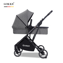 Carrinho de bebê 3 em 1 Premium Carrinho de bebê de alta vista cadeirinha de carro dobrável Carrinho de bebê