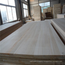 Factory Directly Supply Paulownia Edge Glued Boards