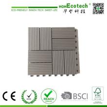 WPC Extrusion, suelo compuesto de madera y plástico WPC Decking Tile 30