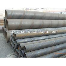 Tubo de aço soldado espiral para construção